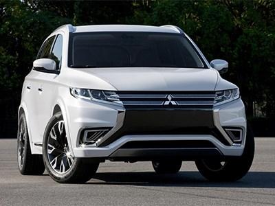Mitsubishi Outlander с новым дизайном появится уже в 2015 году