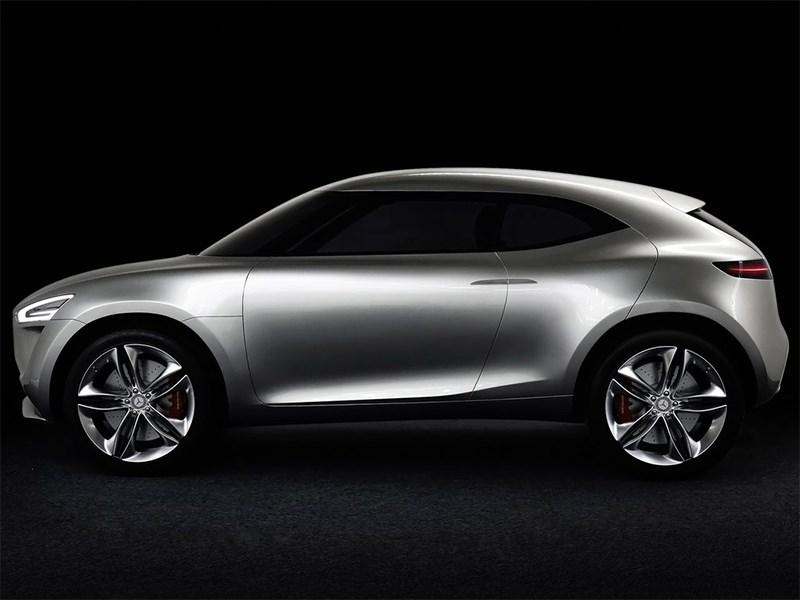 Mercedes-Benz G-Code concept 2014 вид сбоку