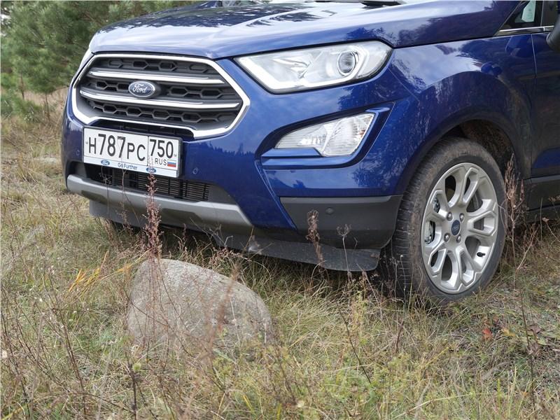 Ford EcoSport 2018 вид спереди