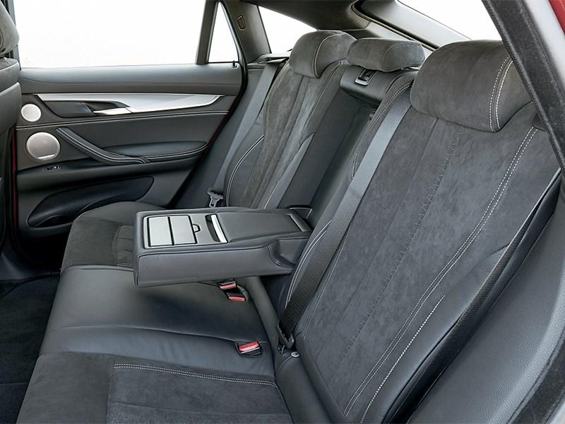 BMW X6 2015 задний диван