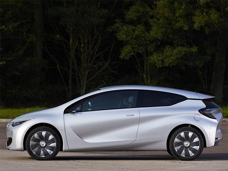 Renault Eolab Concept 2014 вид сбоку