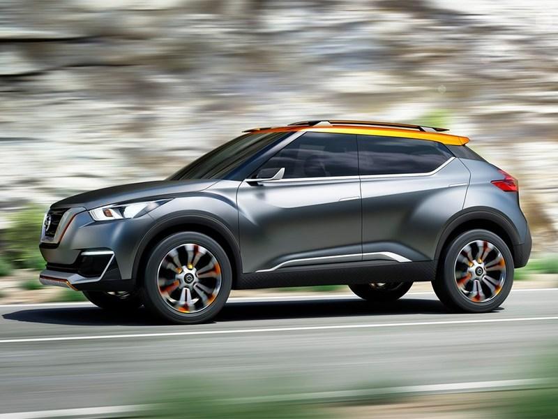 Nissan Kicks concept 2014 вид сбоку