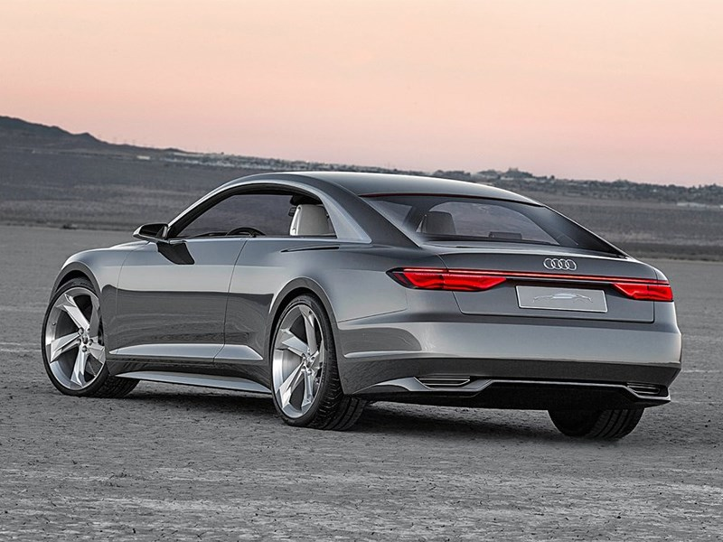 Audi Prologue concept 2015 вид сзади