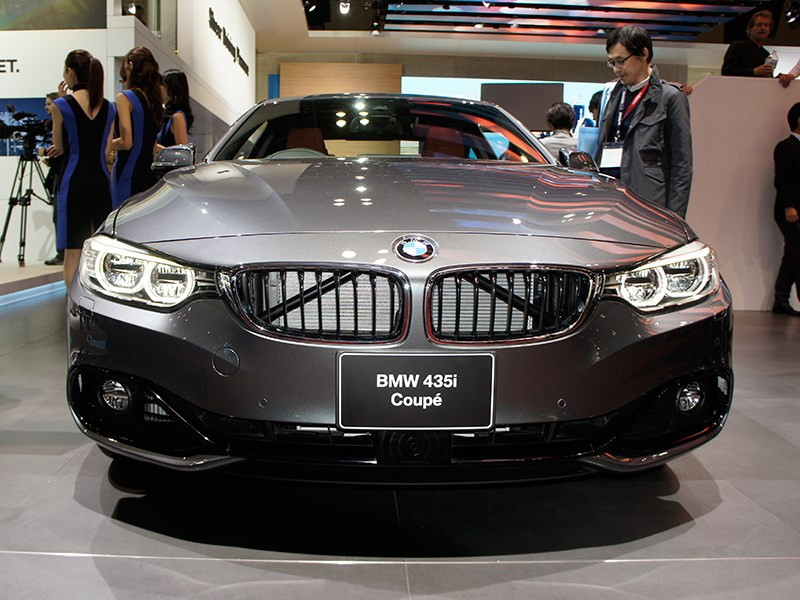 BMW 435i Coupe 2013 вид спереди