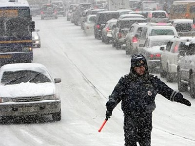 Специалисты ГИБДД выяснили, какая погода больше всего пугает российских водителей