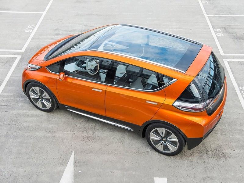 Chevrolet Bolt EV Concept 2015 вид сверху