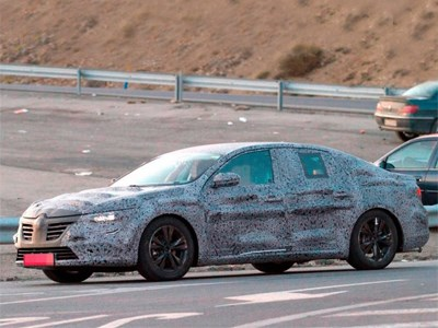 Новый седан Renault Laguna поступит в продажу этой осенью