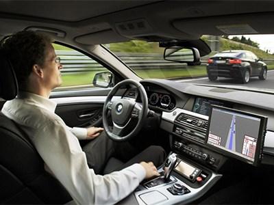 BMW готовит к запуску серийный автомобиль с автопилотом