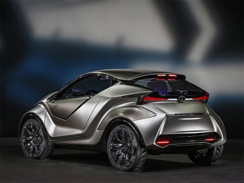 Lexus LF-SA Concept 2015 вид сзади