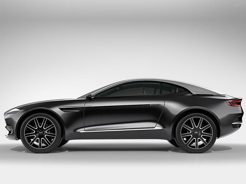 Aston Martin DBX Concept 2015 вид сбоку