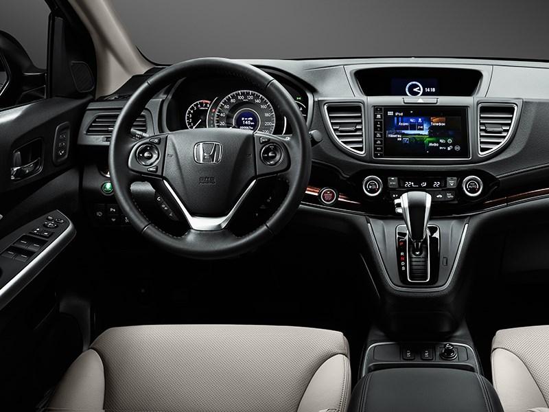 Honda CR-V 2015 водительское место