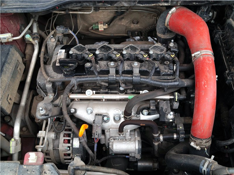 Haval H2 2014 двигатель