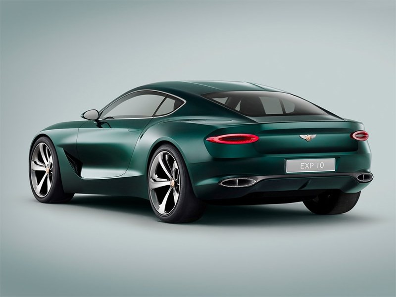 Bentley EXP 10 Speed 6 Concept 2015 вид сзади