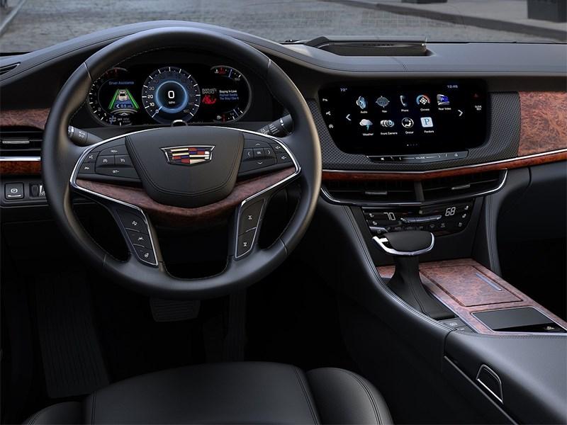 Cadillac CT6 2016 водительское место