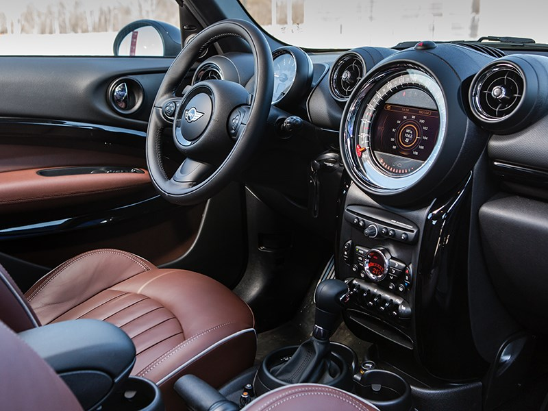 MINI Paceman Cooper S All4 салон