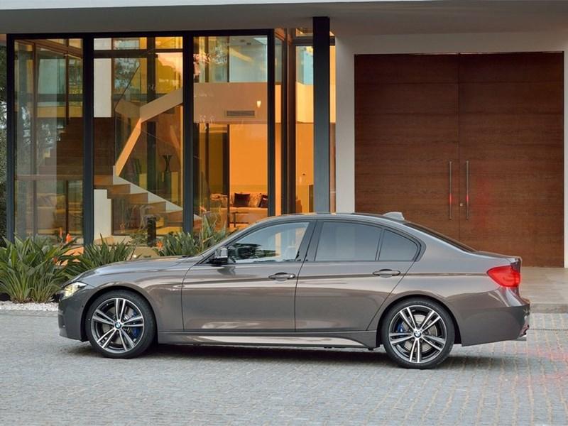 BMW 3 series 2016 вид сбоку