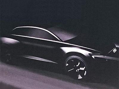 Audi готовится показать свой новый электрический купеобразный кроссовер