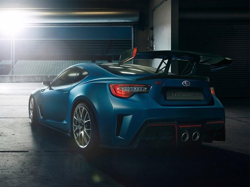 Subaru BRZ STI Concept 2015 вид сзади