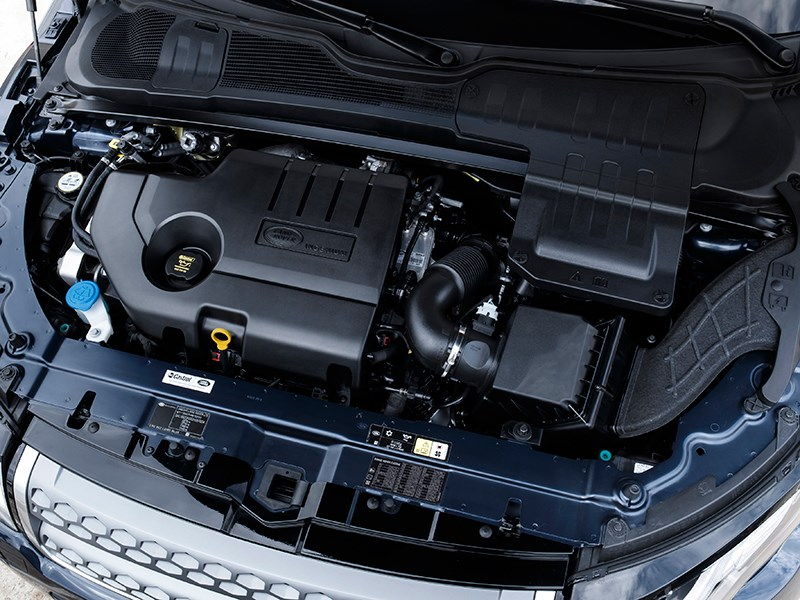 Land Rover Range Rover Evoque 2016 двигатель