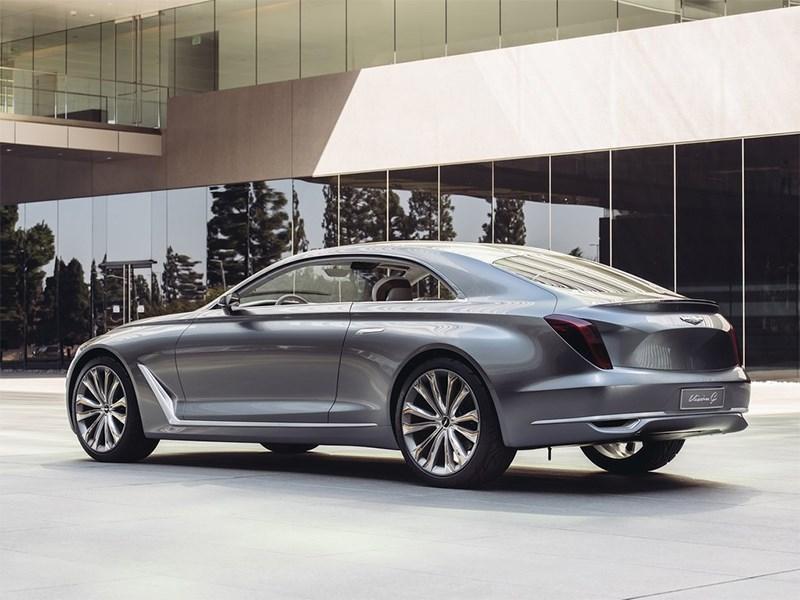 Hyundai Vision G 2015 вид сбоку сзади