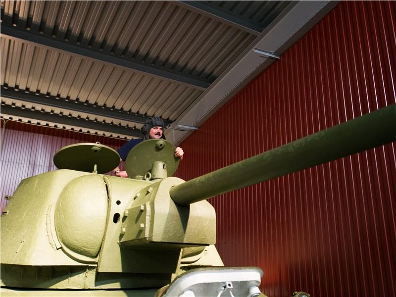 В музее «УралВагонЗавода»