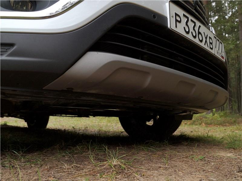Renault Koleos 2017 «защита»