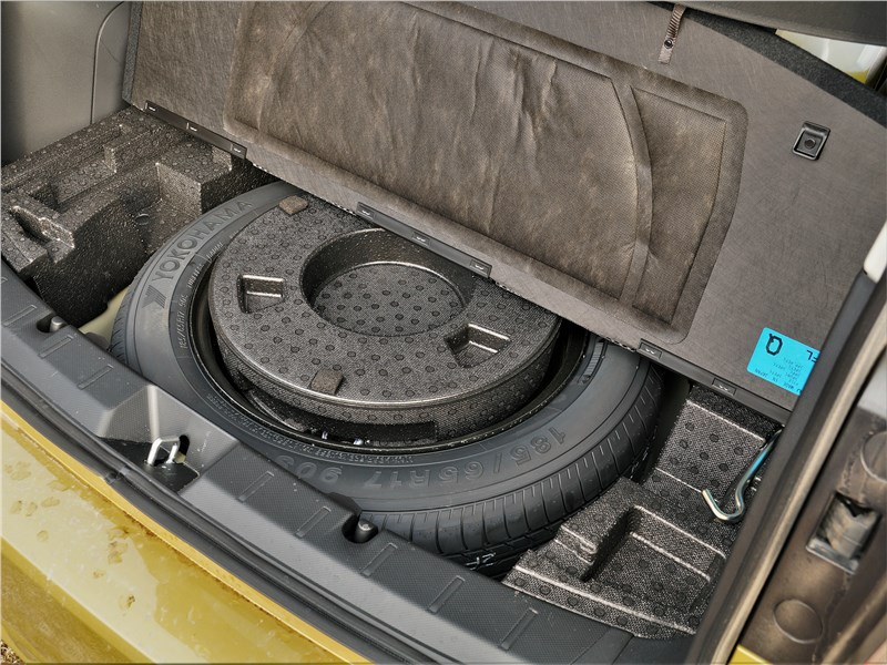 Subaru XV (2022) запаска