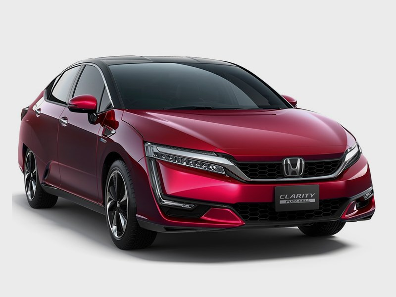 Honda Clarity Fuel Cell 2016 вид спереди