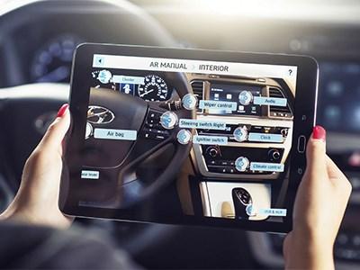 Hyundai будет выпускать инструкции к автомобилям в формате дополненной реальности
