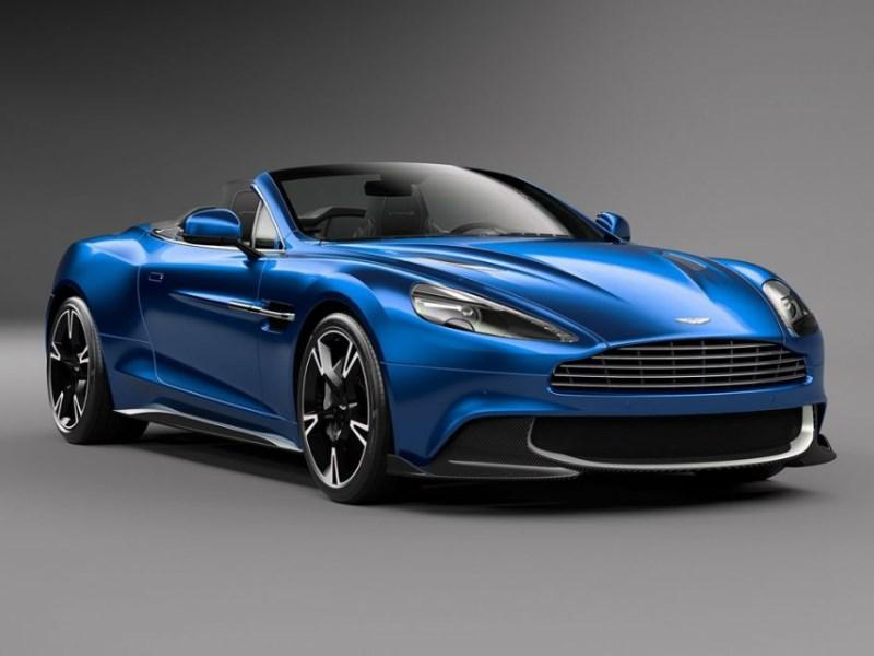 Aston Martin представил новую версию Vanquish S