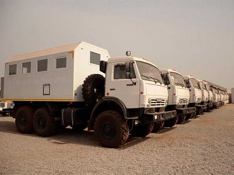 «КАМАЗ» отправил в Республику Гвинею 16 своих грузовиков