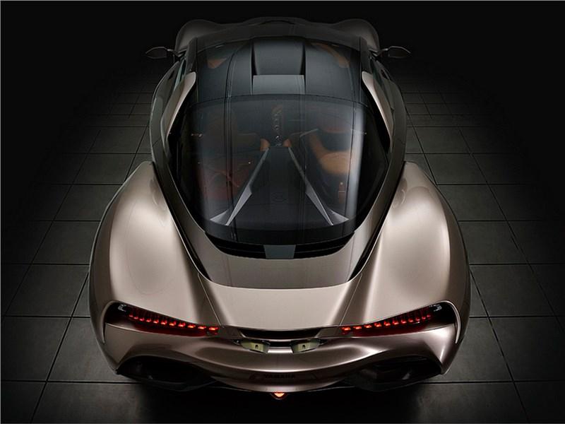 Yamaha Sports Ride concept 2015 вид сзади