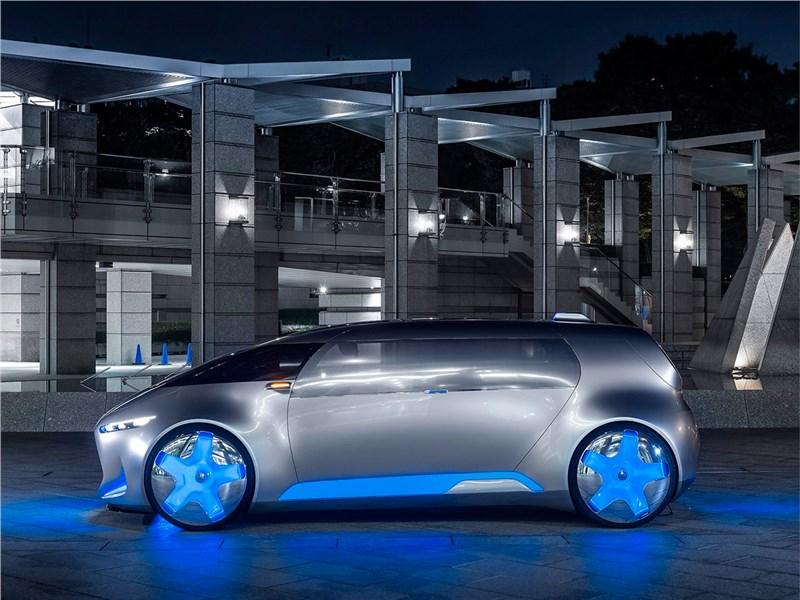 Mercedes-Benz Vision Tokyo Concept 2015 вид сбоку