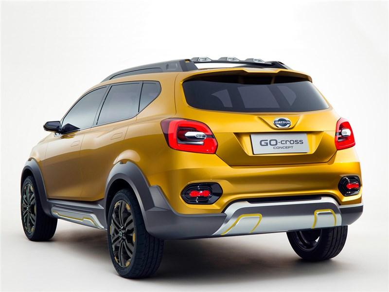 Datsun GO-cross concept 2015 вид сзади 2