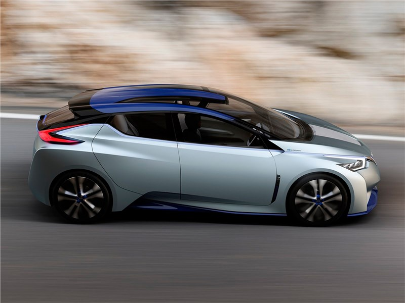 Nissan IDS concept 2015 вид сбоку
