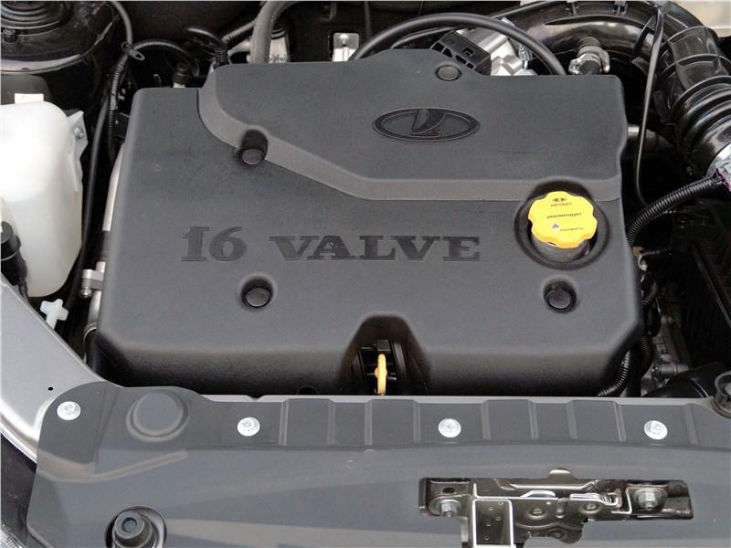 Lada Granta 2019 моторный отсек