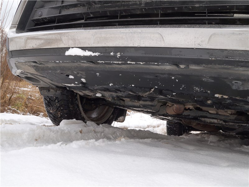 Lexus RX 350L 2018 защита моторного отсека