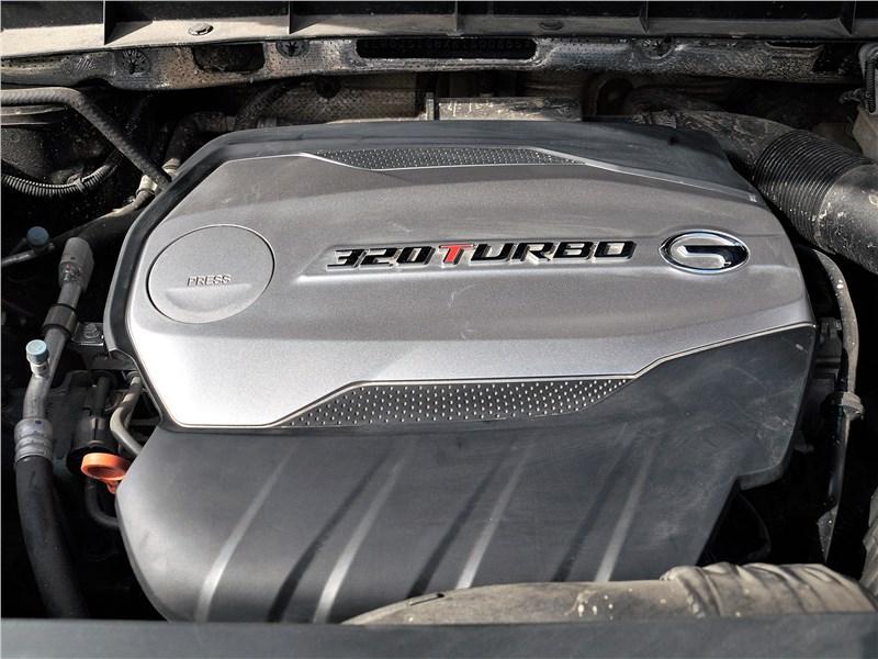 GAC GS8 2020 моторный отсек