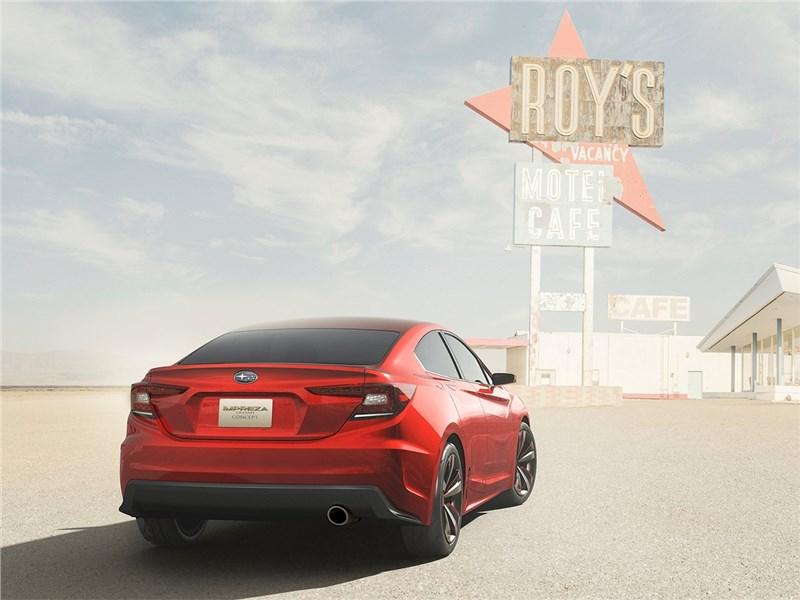Subaru Impreza Sedan Concept 2015 вид сзади