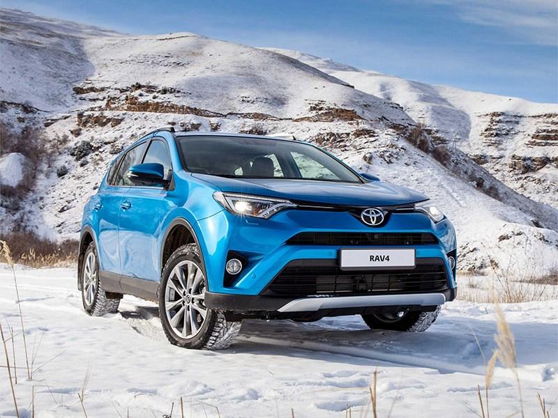 Объем продаж Toyota в России увеличился на 18,5 процентов