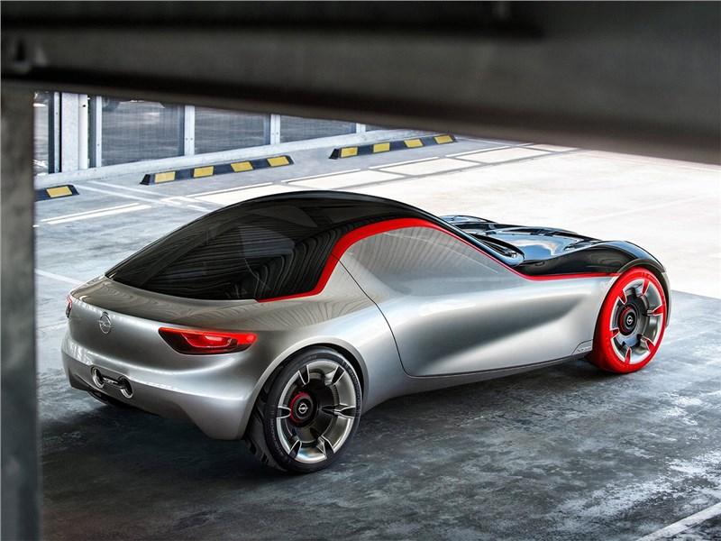 Opel GT concept 2016 вид сзади