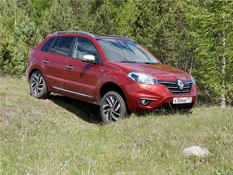 Renault Koleos 2014 вид сбоку
