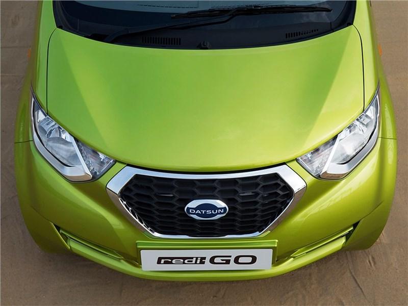 Datsun redi-Go 2016 капот