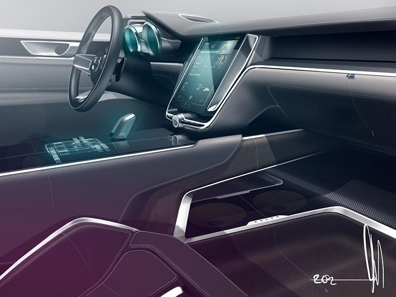 Volvo Coupe концепт 2013 интерьер фото 8