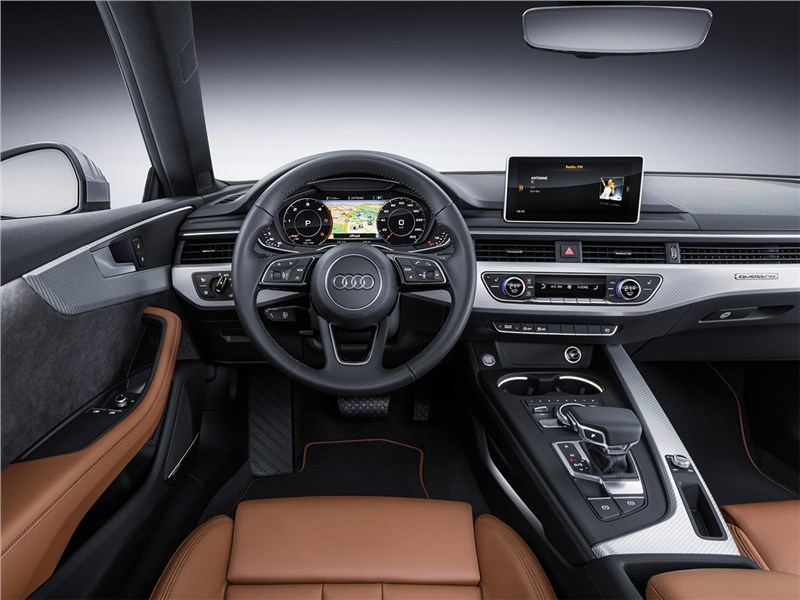 Audi A5 Coupe 2017 салон