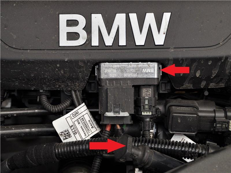 BMW X2 2019 моторный отсек