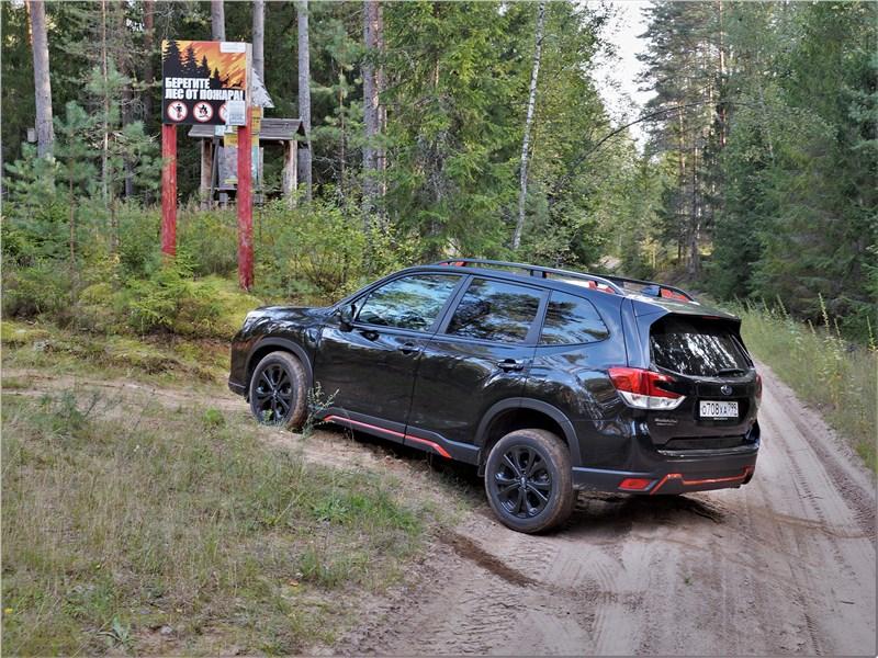 Subaru Forester Sport (2019) вид сбоку