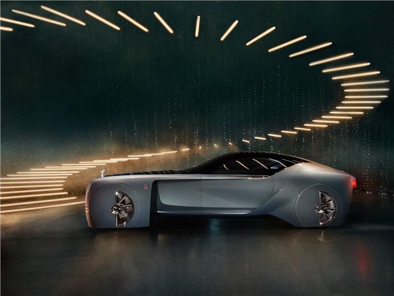 Rolls-Royce Vision Next 100 concept 2016 вид сбоку
