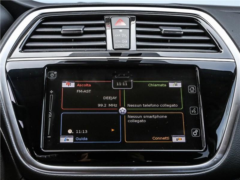 Suzuki SX4 2016 монитор