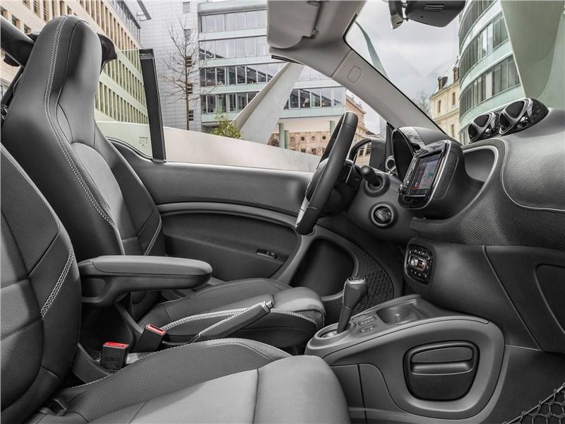 Brabus Smart fortwo Cabrio 2017 салон